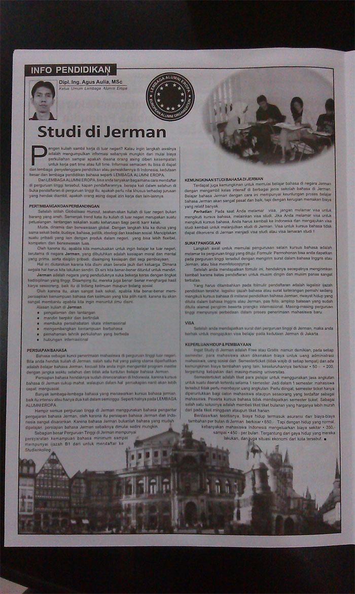 Lembaga-Alumni-Eropa-dalam-taboid-di-kota-Bogor