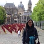 seorang-siswa-dari-Lembaga-Alumni-Eropa-angk-2013-sedang-menikmati-keindahan-alam-saat-kuliah-di-Jerman-2014
